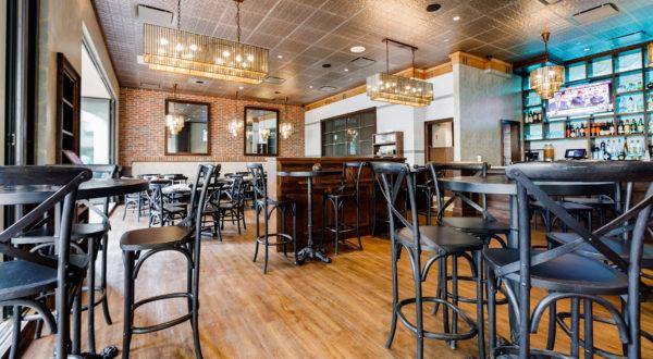 sky 55 dining area